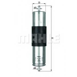 Топливный фильтр kl473 mahle - BMW X5 (E53) вездеход закрытый 3.0 d