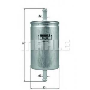 KNECHT KL60 Фільтр палива