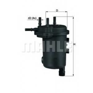 KNECHT KL633D Фільтр палива