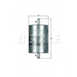 KNECHT KL65 Фильтр топливный W202/124/210/140  M104/111/119 94-00