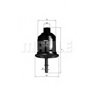 Топливный фильтр kl749 mahle - MITSUBISHI GALANT VI (EA_) седан 2.0 (EA2A)