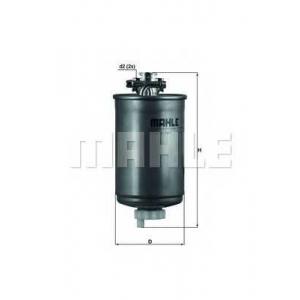 Топливный фильтр kl75 mahle - VW POLO (86C, 80) Наклонная задняя часть 1.3 D