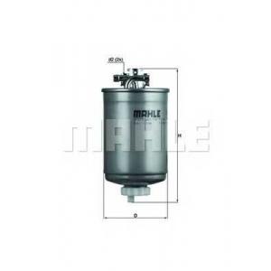 Топливный фильтр kl77 mahle - VW POLO (6N1) Наклонная задняя часть 64 1.9 D