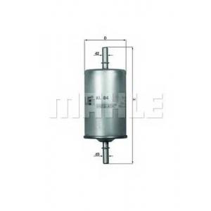 Топливный фильтр kl84 mahle - SEAT IBIZA II (6K1) Наклонная задняя часть 1.6 i