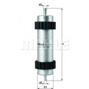KNECHT KL915 Топливный фильтр