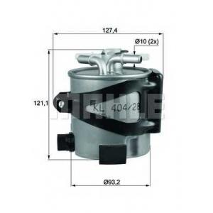 KNECHT KLH44/25 Топливный фильтр