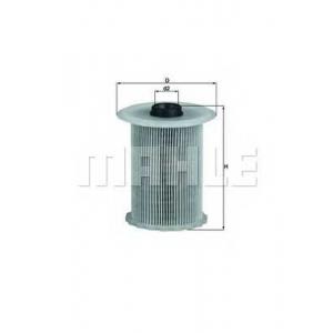 Топливный фильтр kx183d mahle - OPEL VIVARO c бортовой платформой/ходовая часть (E7) c бортовой платформой/ходовая часть 1.9 Di