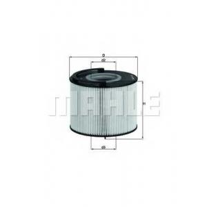 Топливный фильтр kx192d mahle - AUDI Q7 (4L) вездеход закрытый 3.0 TDI