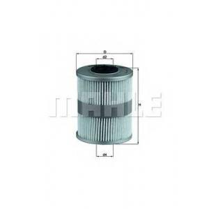 KNECHT KX206D Фильтр топл. PEUGEOT 605 (пр-во Knecht-Mahle)
