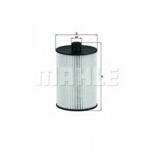 KNECHT KX226D Фільтр палива