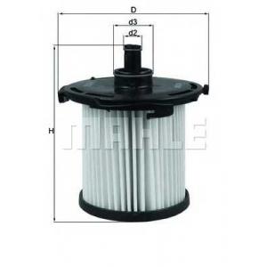 KNECHT KX387D Фільтр палива