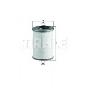 Топливный фильтр kx43 mahle - MERCEDES-BENZ PONTON (W120) седан 180 D (120.110)