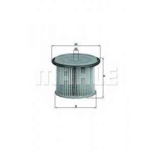 Топливный фильтр kx631 mahle - CITRO?N BX (XB-_) Наклонная задняя часть TRD Turbo