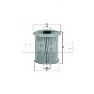 KNECHT KX75D Фільтр палива