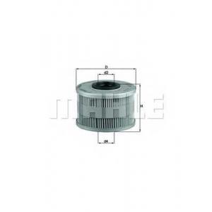 Топливный фильтр kx79d mahle - RENAULT MEGANE I Classic (LA0/1_) седан 1.9 TDI