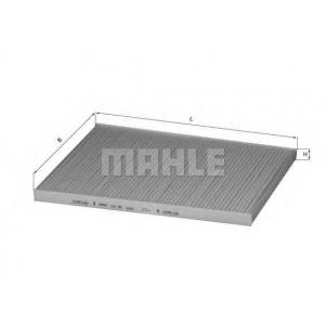 Фильтр, воздух во внутренном пространстве la36 mahle - OPEL OMEGA A (16_, 17_, 19_) седан 2.0 i