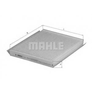 Фильтр, воздух во внутренном пространстве la362 mahle - CHEVROLET NUBIRA седан седан 1.4