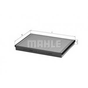 Фильтр, воздух во внутренном пространстве la75 mahle - OPEL ASTRA H универсал универсал 1.6 LPG