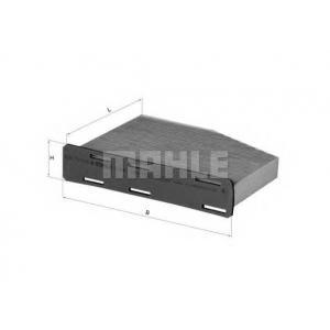 Фильтр, воздух во внутренном пространстве lak181 mahle - VW PASSAT (362) седан 1.4 TSI