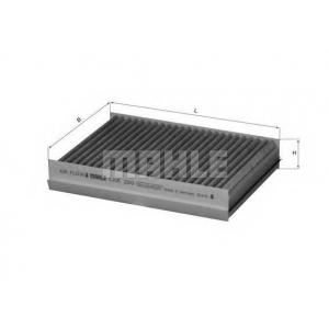 Фильтр, воздух во внутренном пространстве lak250 mahle - JAGUAR S-TYPE (CCX) седан 3.0 V6
