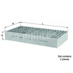 Фильтр, воздух во внутренном пространстве lak295s mahle - MERCEDES-BENZ R-CLASS (W251, V251) вэн R 350 CDI 4-matic (251.023, 251.123)