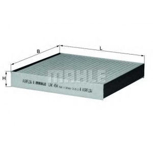 KNECHT LAK454 Фильтр, воздух во внутренном пространстве