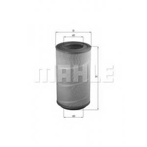 KNECHT LX1025 Фильтр воздушный DAF (TRUCK) (пр-во Knecht-Mahle)