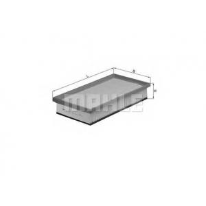 KNECHT LX1027 Воздушный фильтр