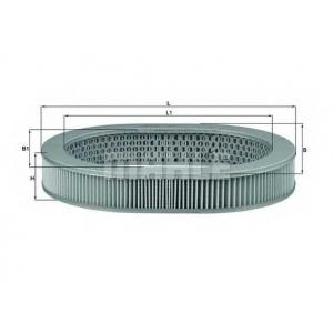 KNECHT LX1043 Воздушный фильтр