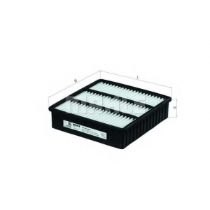 Воздушный фильтр lx1076 mahle - MITSUBISHI COLT V (CJ_, CP_) Наклонная задняя часть 1300 GL,GLX (CJ1A)