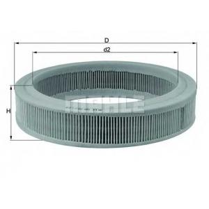 Воздушный фильтр lx108 mahle - FORD FIESTA II (FBD) Наклонная задняя часть 1.1 (FBD)