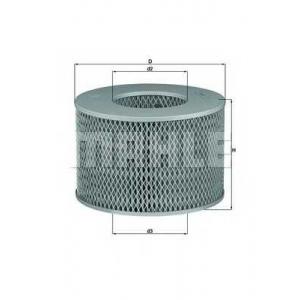 Воздушный фильтр lx1140 mahle - TOYOTA LAND CRUISER 80 (_J8_) вездеход закрытый 4.2 TD (HDJ80)