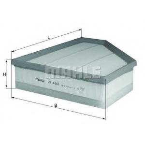 KNECHT LX1640 Воздушный фильтр