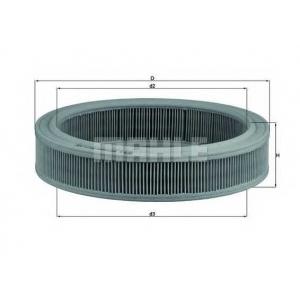 Воздушный фильтр lx202 mahle - FORD ESCORT II (ATH) седан 1.3