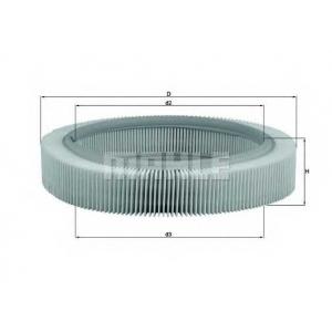 Воздушный фильтр lx209 mahle - VW POLO (86) Наклонная задняя часть 0.9