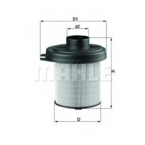 KNECHT LX291 Воздушный фильтр
