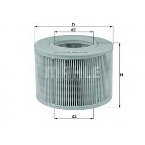 KNECHT LX330 Воздушный фильтр