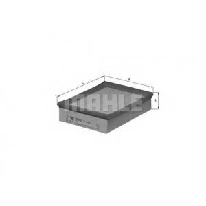 Воздушный фильтр lx347 mahle - OPEL KADETT E Наклонная задняя часть (33_, 34_, 43_, 44_) Наклонная задняя часть 1.7 D