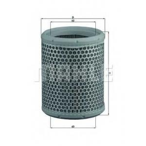 Воздушный фильтр lx384 mahle - CITRO?N AX (ZA-_) Наклонная задняя часть 11