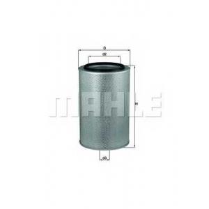 Воздушный фильтр lx436 mahle - MERCEDES-BENZ MK  1733,1733 L, 1734 L
