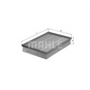 Воздушный фильтр lx4601 mahle - LANCIA PRISMA (831AB0) седан 2.0 i.e. 4WD