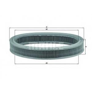 Воздушный фильтр lx527 mahle - FORD ESCORT IV (GAF, AWF, ABFT) Наклонная задняя часть 1.4