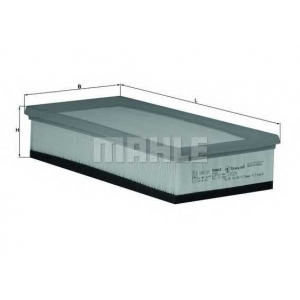 Воздушный фильтр lx529 mahle - PEUGEOT 406 (8B) седан 2.0 HDI 110