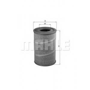 Воздушный фильтр lx5601 mahle - MAN L 2000  8.163 LC,8.163 LLC
