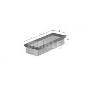 Воздушный фильтр lx580 mahle - FIAT PUNTO (176) Наклонная задняя часть 55 1.1