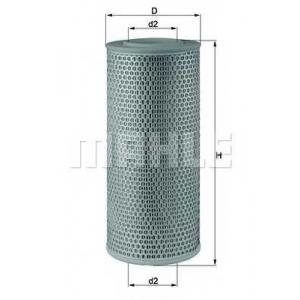 Воздушный фильтр lx610 mahle - IVECO DAILY II c бортовой платформой/ходовая часть c бортовой платформой/ходовая часть 30-8 (10011131, 10011132, 10011231, 10011232, 10011237...)