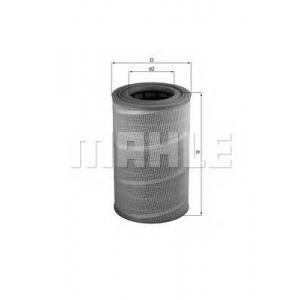 Воздушный фильтр lx612 mahle - MAN F 2000  19.233 FCNG