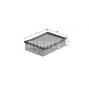 Воздушный фильтр lx642 mahle - PEUGEOT 206 Наклонная задняя часть (2A/C) Наклонная задняя часть 1.9 D