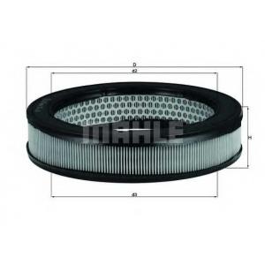 Воздушный фильтр lx67 mahle - MAZDA 323 I (FA) Наклонная задняя часть 1.0