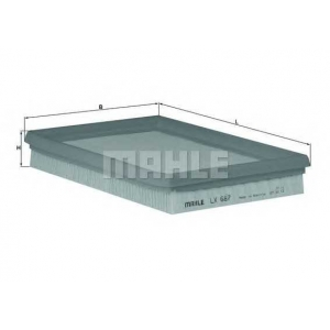 ��������� ������ lx687 mahle - FORD FIESTA ������ (F3L, F5L) ������ 1.8 D